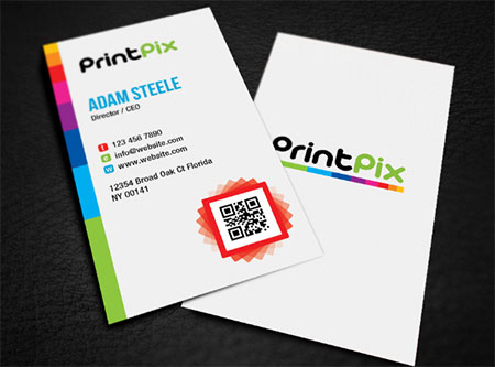 Print Shop Color Extravagance Business Cards