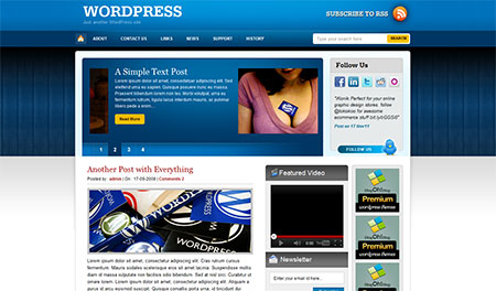 WordPress Theme – Woody