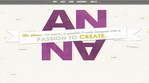 Anna Monroe - Graphic and Web Designer