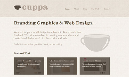 Cuppa Web and Graphics