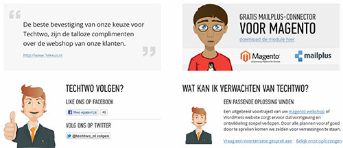 Techtwo - Magento webshop & wp websites