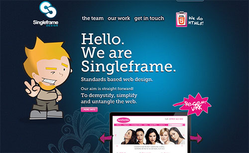 Singleframe Design