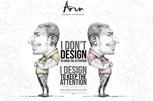 Personal Portfolio of Arun Kumar