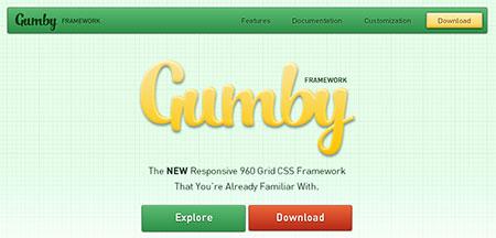 Gumby – Responsive CSS Framework