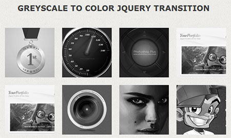 jQuery Color Fade Hover Effect