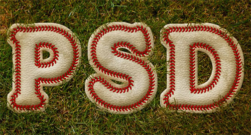 Create a Baseball-Inspired Text Effect