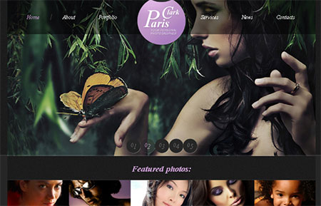 Website Template with JustSlider, jCarousel and FancyBox