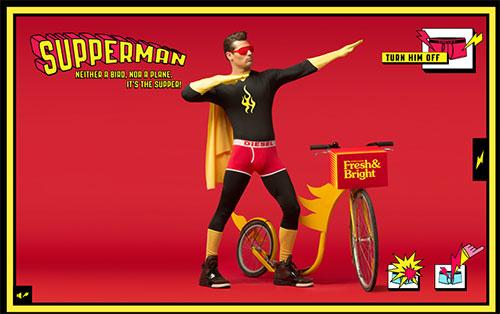 Diesel Fresh and Bright Superheroes