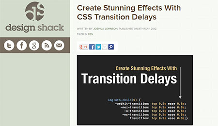 Create Stunning Effects With CSS Transition Delays