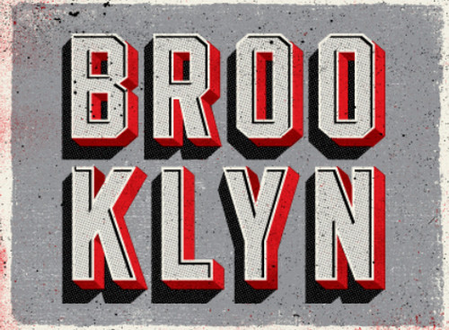 Brooklyn Type by Two Arms Inc