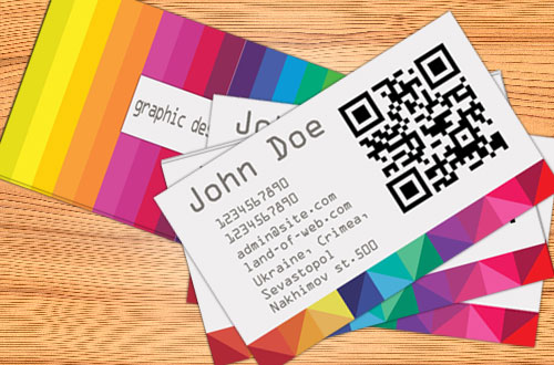 preview Colorful Business Card