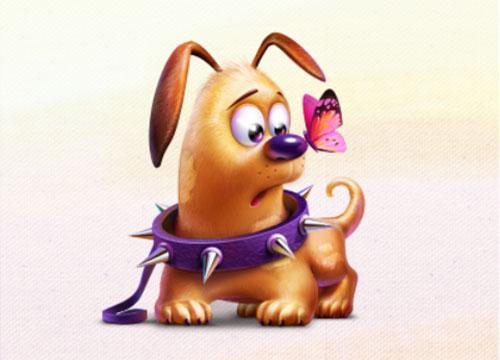 Little Dog by Artua