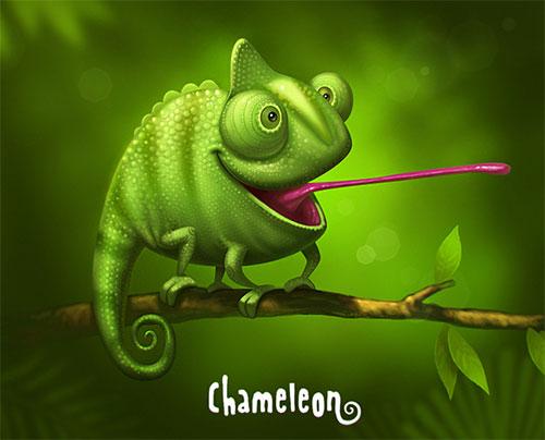 Chameleon by Sergey Kardakov_Artraf