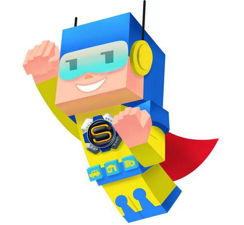 SuperSeguro Character by Erick Mazer Yamashita