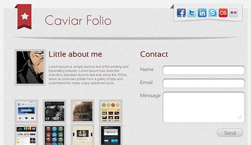 Caviar Folio