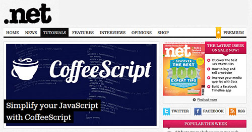 Simplify your JavaScript with CoffeeScript