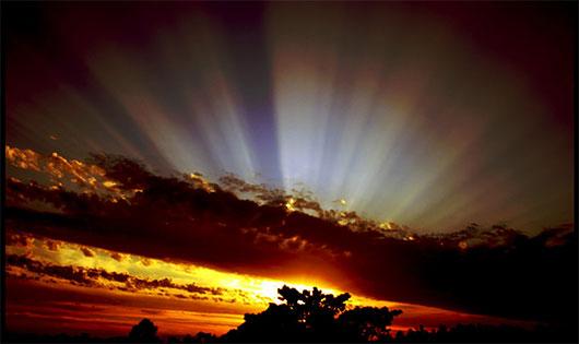 Sun Rays by B4ndAi