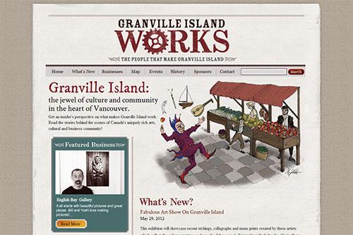 Granville Island Works Canada