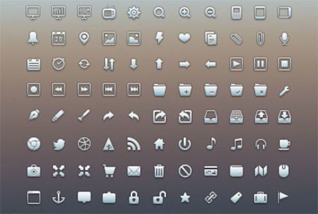 UI Icon Set by Matt Gentile
