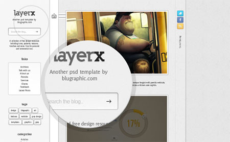 Layerx Blogger Website Theme Template