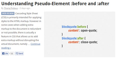Understanding Pseudo-Element :before and :after