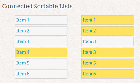 HTML5 Sortable