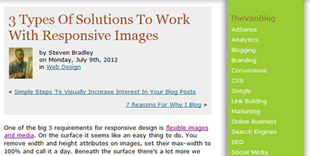 3 Types Of Solutions To Work With Responsive Images