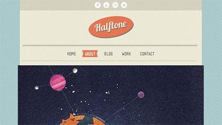 Halftone Home