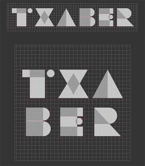 Txaber logotipe
