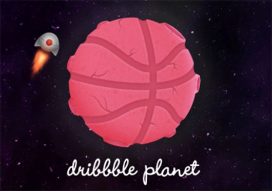 Dribbble planet by Anh Vu Hoang