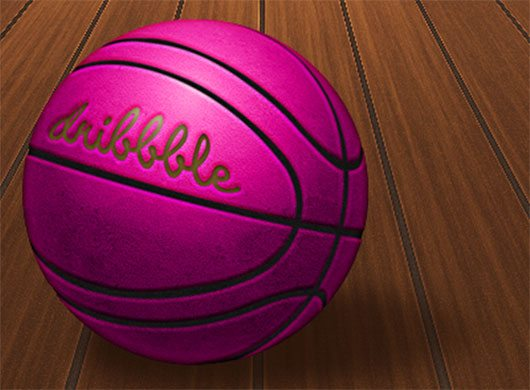 Dribbble Ball by Max Steenbergen