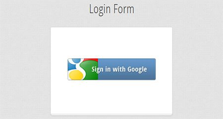 Build a one-click registration form powered by Google