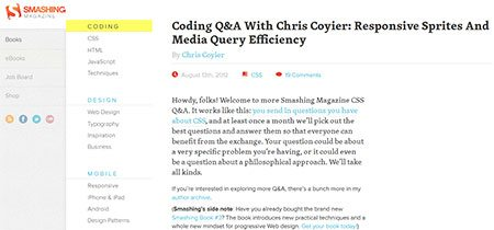 Coding Q&A With Chris Coyier: Responsive Sprites And Media Query Efficiency