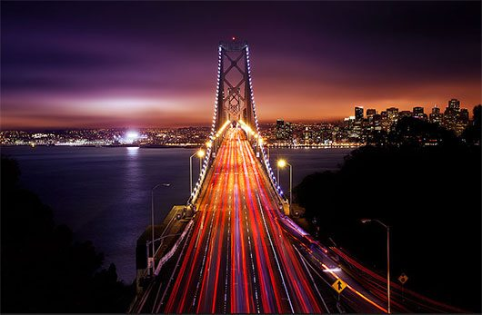 San Francisco by Road to the moon