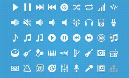 Music glyphs by Ivan Kutcher
