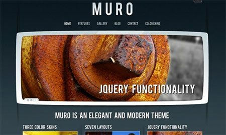 Muro - Elegant and modern WORPRESS theme