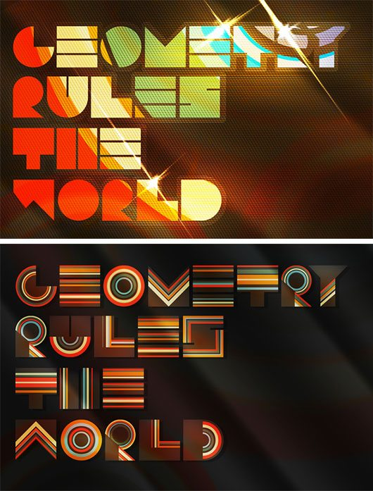 Geometry Rules The World by Arnaud de Conti