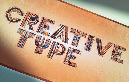 CREATIVE TYPE by Jorrit van Rijt