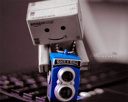 Happy With The New Toy! by  Milana R.