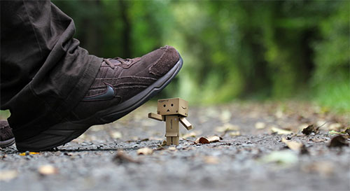 Watch out, Danbo! by Wolfgang Voigt