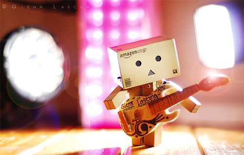 Danbo on stage by Glenn Lascuña
