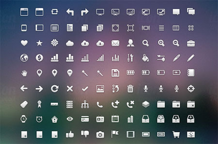 Crisp Icon Set