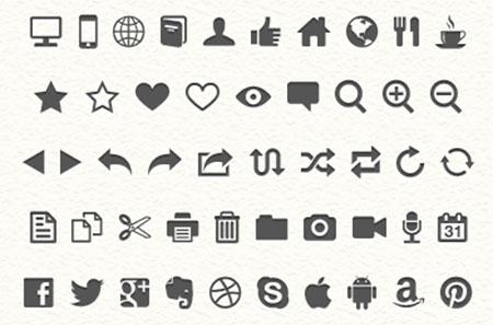 Ligature Symbols by Kazuyuki Motoyama