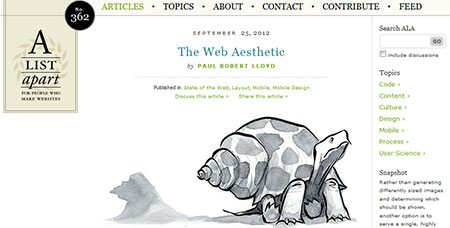 The Web Aesthetic