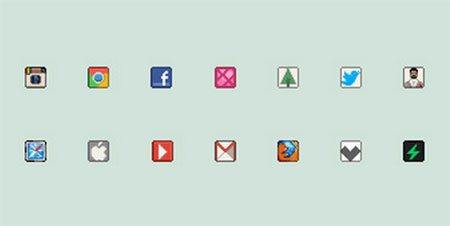 16px icons by Claudio Gomboli