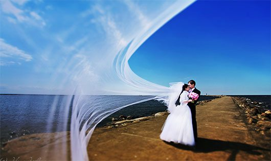 Sky veil by Jelena Jursina