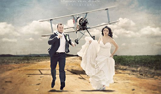 Not Another Plain Wedding Photo by Shawn Van Daele
