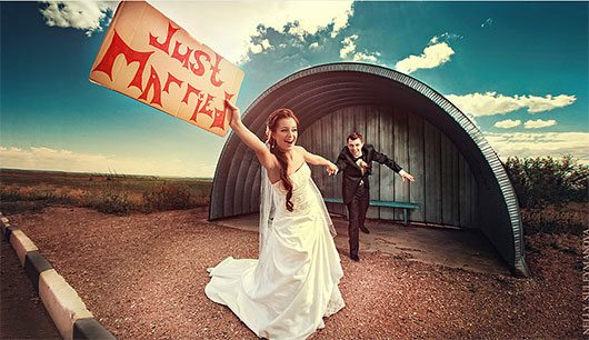 Just Married by Nelly Suleymanova