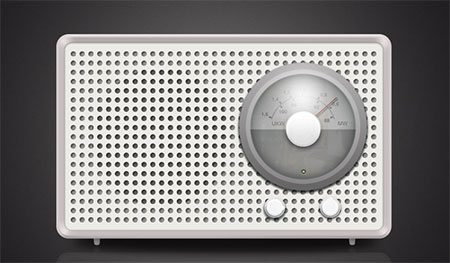 Create Highly Detailed Braun Radio Icon from Scratch in Photoshop