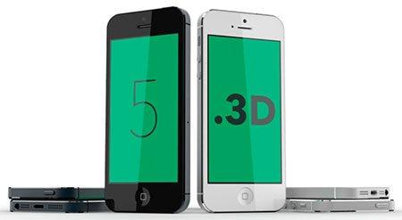 iPhone 5 model 3D